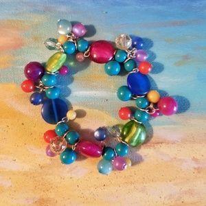 Jewelry - Super fun! Multi-color, Gumdrop bracelet